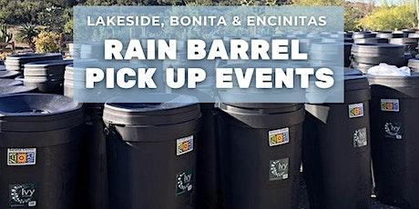 Bonita Rain Barrel Pick Up tickets
