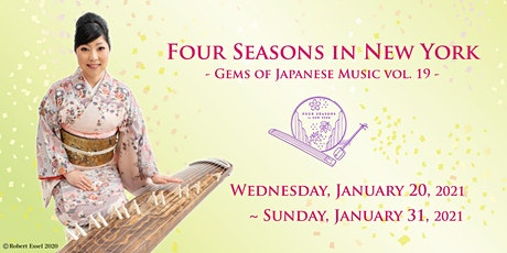 Four Seasons in New York - Gems of Japanese Music - vol. 19 tickets