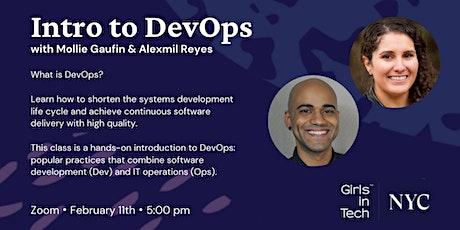 Intro to DevOps tickets