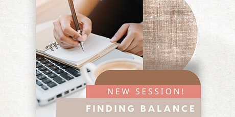Pen Therapy Finding Balance Journaling Session  - 9AM tickets
