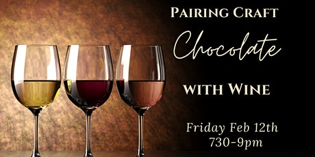 Pairing Craft Chocolate with Wine (Virtual) tickets