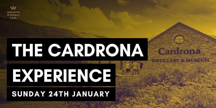 Aotearoa Whiskey Club : 'The Cardrona Experience' (January Tasting) image