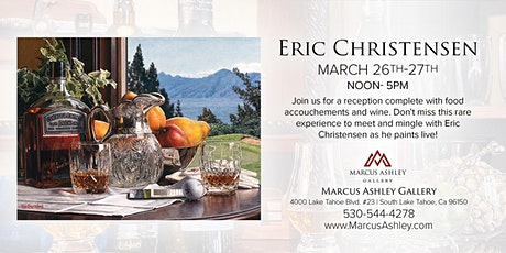Eric Christensen~Meet the Artist~March 26th & 27th tickets