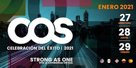 CELEBRACIÓN DEL ÉXITO 2021 boletos