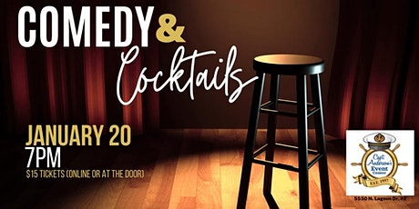 January Comedy and Cocktails tickets