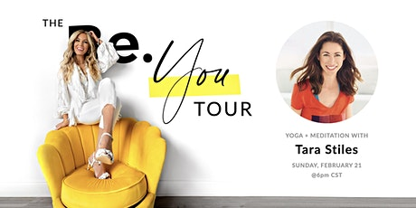 The Be. You Tour with Tara Stiles and Jessica Zweig tickets