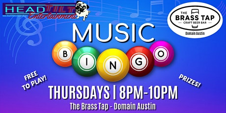 Music Bingo at The Brass Tap - Domain Austin tickets
