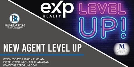 New Agent Level Up tickets
