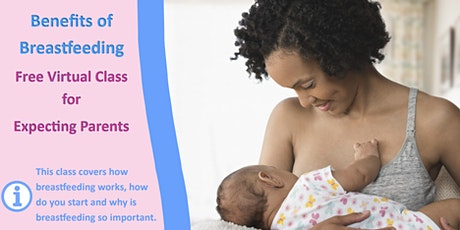 Benefits of Breastfeeding - English tickets