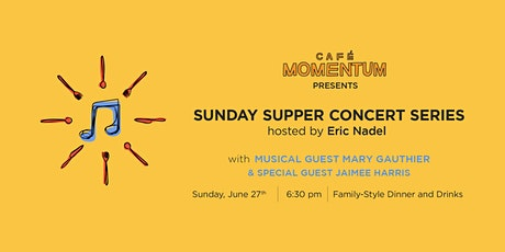Sunday Supper Concert Series with Mary Gauthier tickets