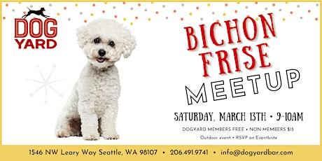 Bichon Frise Meetup at the Dog Yard tickets