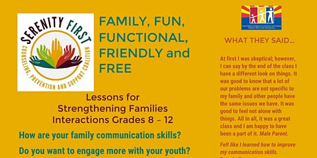 Strengthening Families tickets