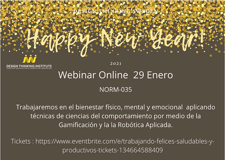 Trabajando felices, saludables y Productivos NOM035 Gamificación y AI. image