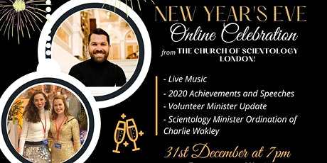 New Year's Eve. Online Celebration tickets
