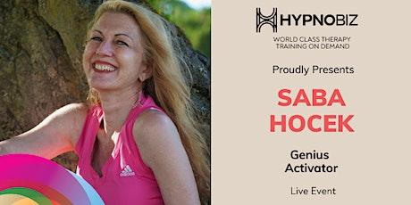 Genius Activator With Saba Hocek tickets