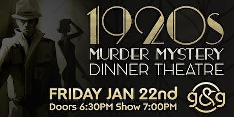 1920s Murder Mystery at Garden & Grain tickets