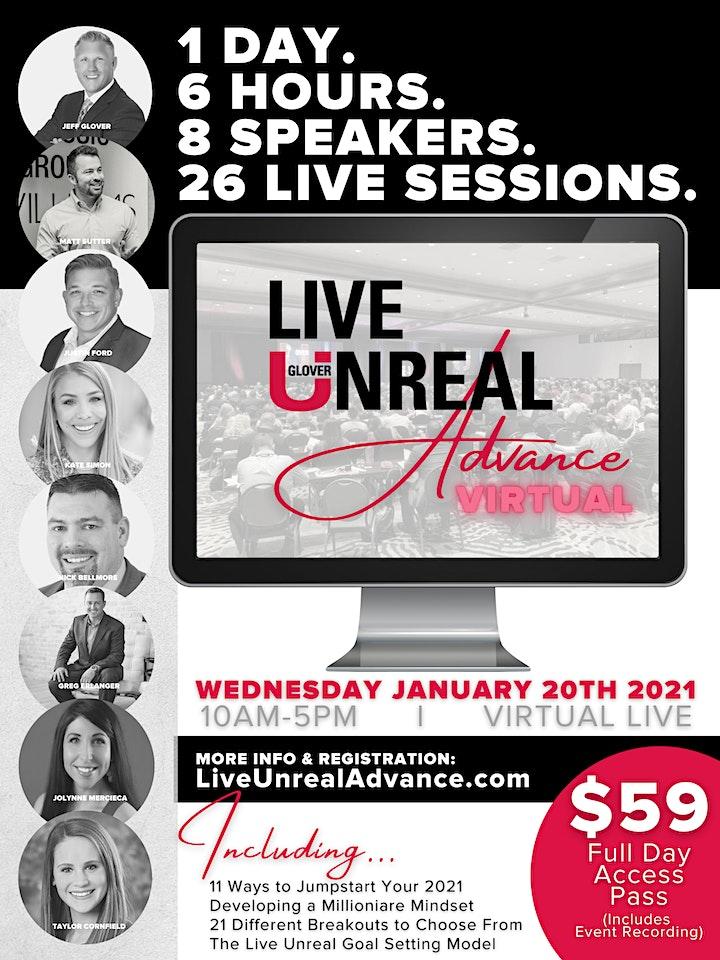 Live Unreal Advance Virtual - Replay image