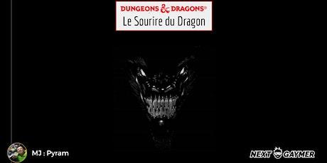 D&D5 - Le Sourire du Dragon - par Pyram tickets