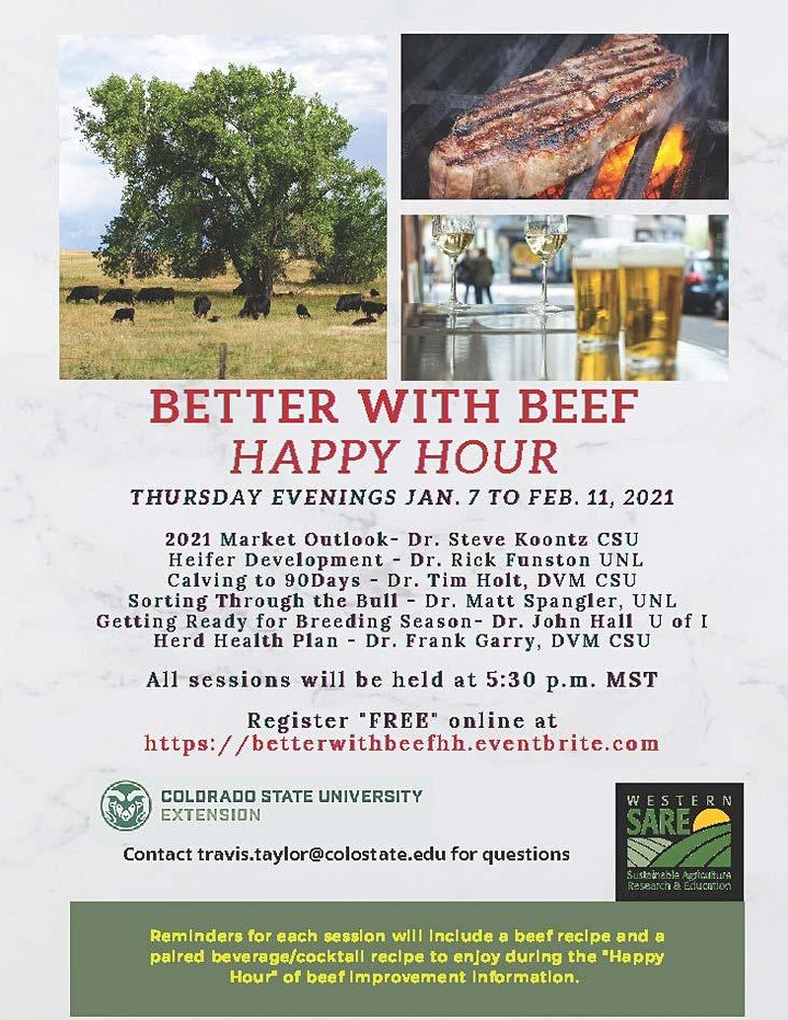 """Better with Beef """"Happy Hour"""" Producer Education Series image"""