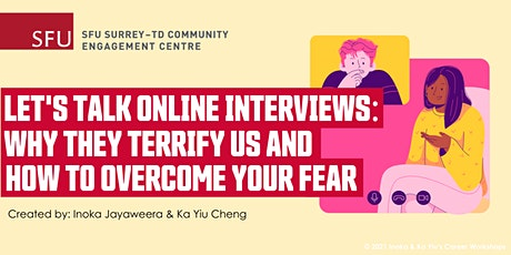 Let's Talk Online Interviews: Why They Terrify Us & How to Overcome Fear tickets