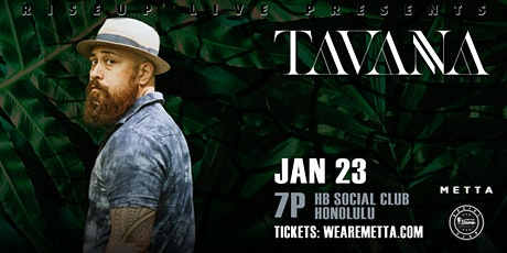 Tavana - Live at HB Social Club tickets