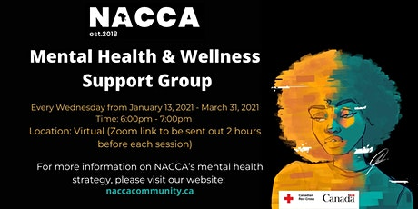 Mental Health & Wellness Support Group tickets