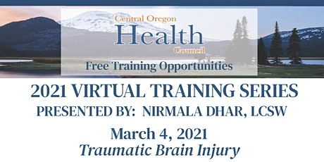 Nirmala Dhar, LCSW Training Series:  Traumatic Brain Injury tickets