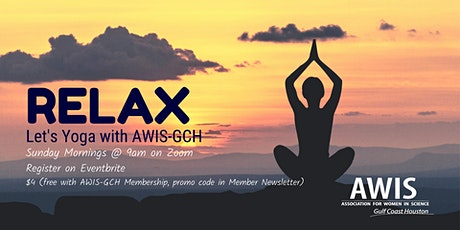Let's Yoga with AWIS-GCH tickets