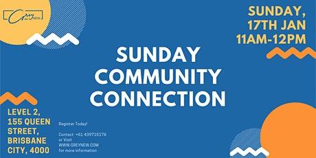 Sunday Community Connection tickets