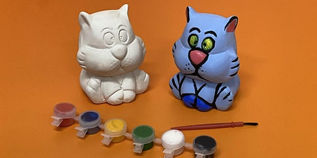 'Meow-Meow' Cat Bank Decorating Workshop tickets