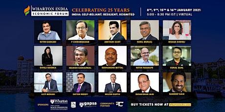 Wharton India Economic Forum 2021 | Virtual Conference tickets
