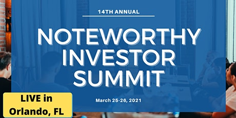 Live NoteWorthy Investor Summit (14th Annual) tickets