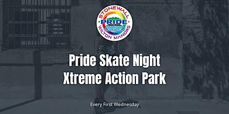 Pride Skate Nights at Xtreme Action Park billets