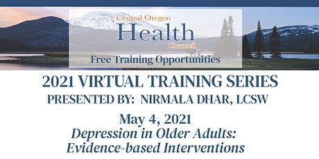 Nirmala Dhar, LCSW Training Series:  Depression in Older Adults tickets