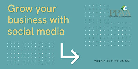 PPAA Webinar: Using social media to grow your business tickets