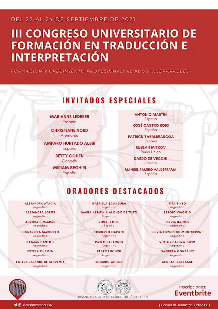 Imagen de III Congreso Universitario de Formación en Traducción e Interpretación