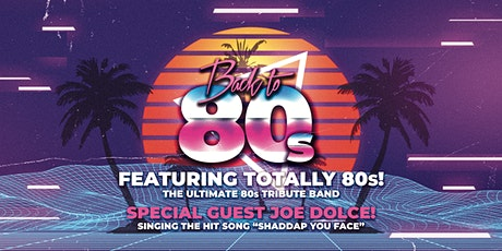 Back to the 80s party | Over 30s (extra age leeway) tickets