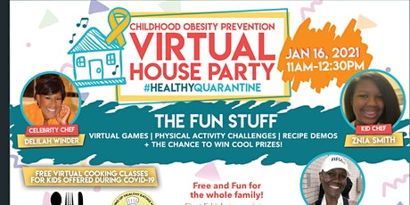 Childhood Obesity Prevention Virtual Houseparty tickets