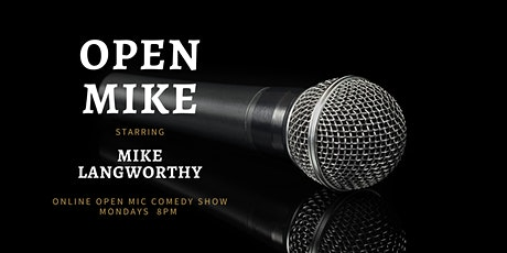 Open Mike Comedy Show (Virtual Event) tickets