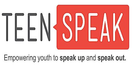 TeenSpeak 2021 tickets