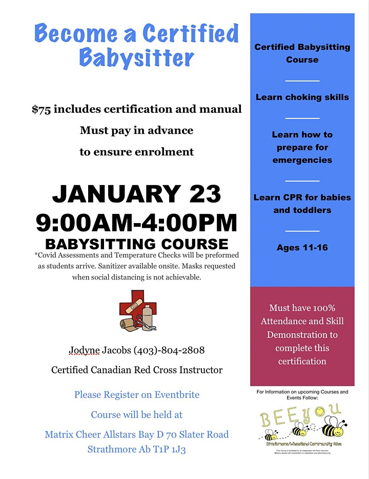Strathmore Babysitters Course image