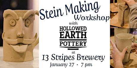 Stein Making Workshop w/ Hollowed Earth tickets