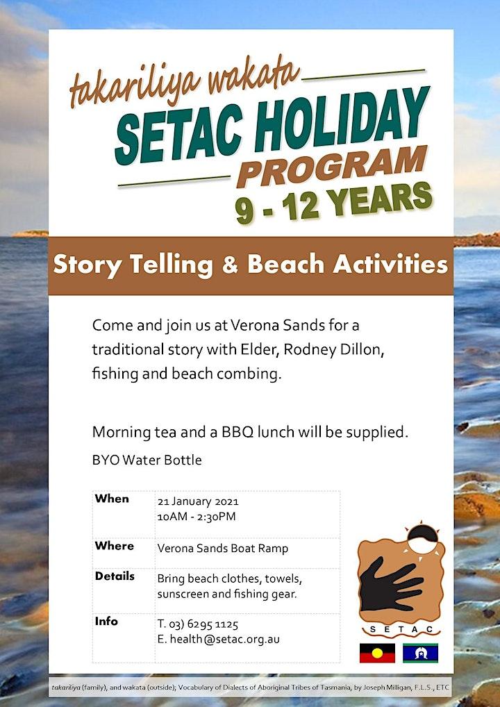 takariliya wakata; 9-12 Years Day at the Beach image