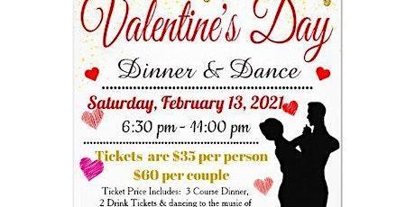 Valentine's Day Dinner & Dance tickets