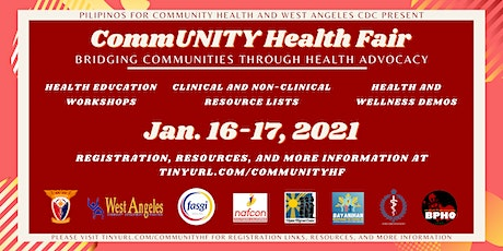 CommUNITY Health Fair (Bridging Communities through Health Advocacy) tickets