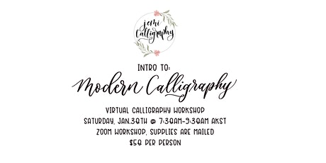 Intro to: Modern Calligraphy for Beginners- Brush Pen Edition tickets