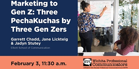 February 2021 WPC Virtual Meeting - Marketing to Gen Z: Three by Three tickets