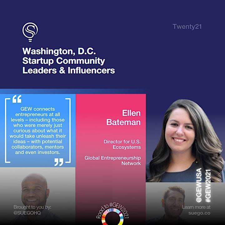 Global Entrepreneurship Week D.C. / M.D. / V.A. 2021 image