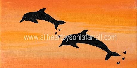 KIDS Art Class Dolphin Delight  with Sonia Farrell: Creative Hearts Art tickets