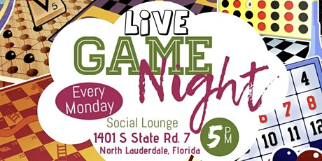 Live GameNight tickets